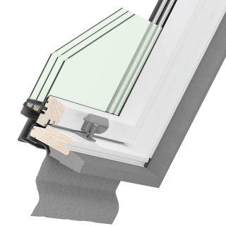 Ultima Energy cross-section of roof window