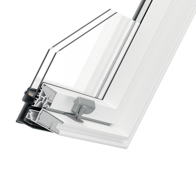 Optima PVC cross-section of window