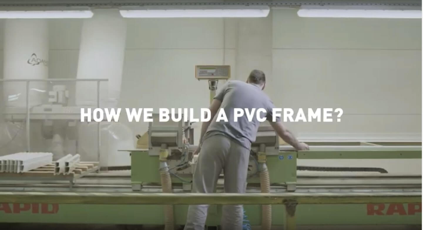 How we build a pvc frame?