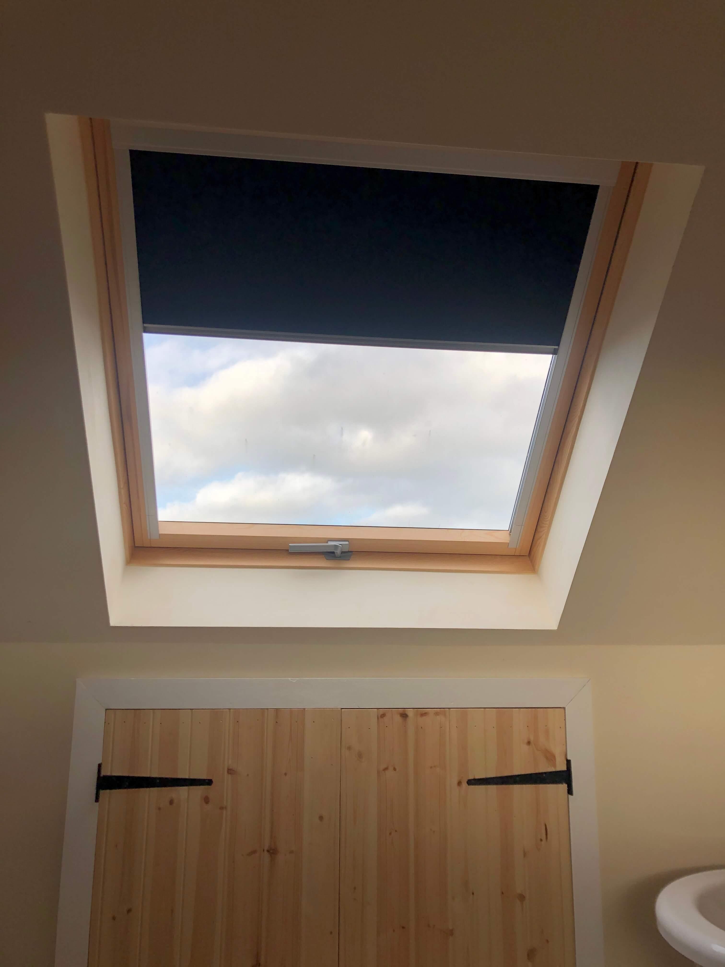 Dakea Ultima™ roof windows and Dakea blackout blinds
