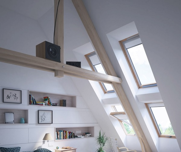 Roof support in a loft conversion