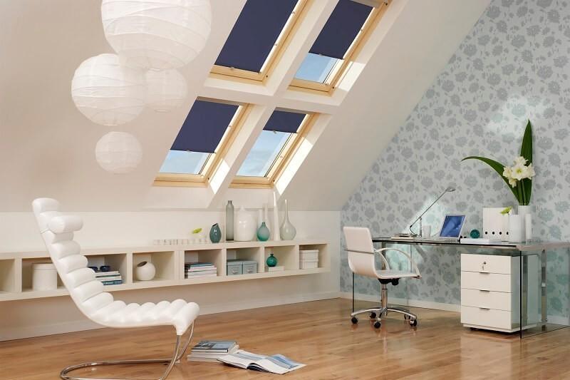 Loft office idea